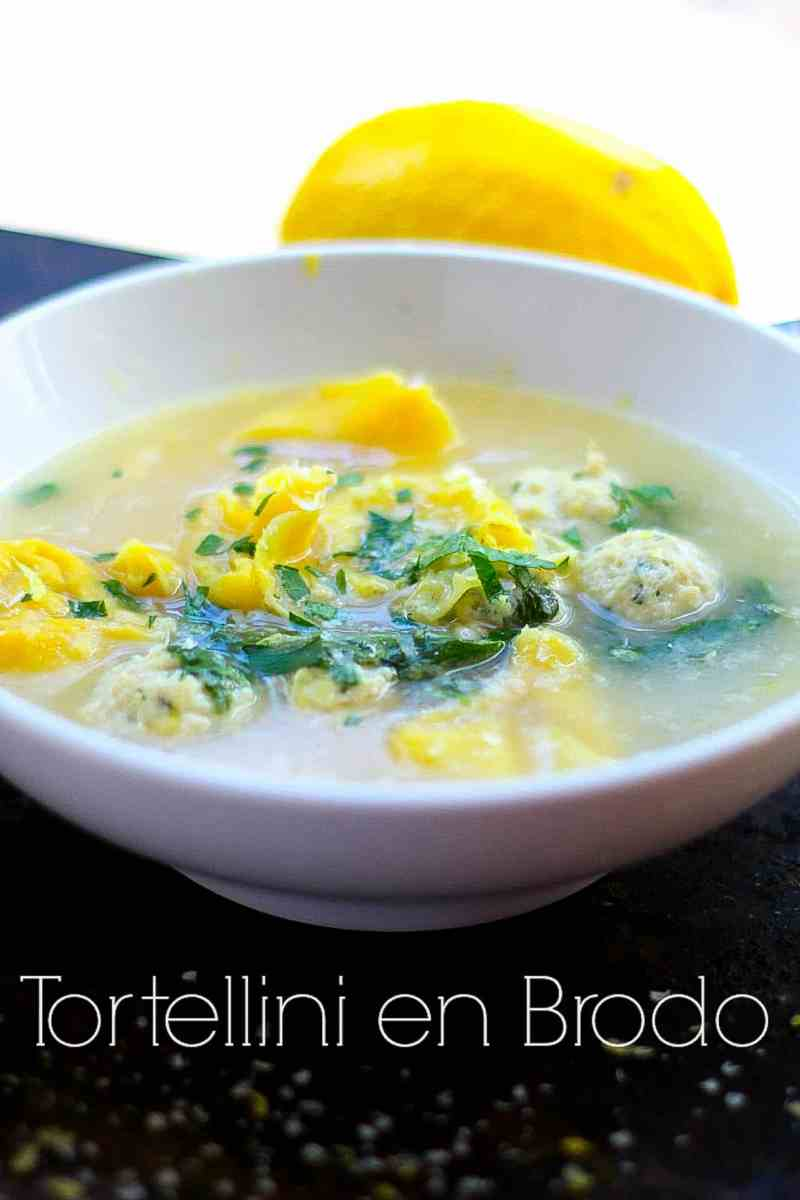 A warm and savory broth filled with light and fluffy meatballs and tender tortellini. This Italian meatball soup will have your sniffles fleeing and your belly smiling.