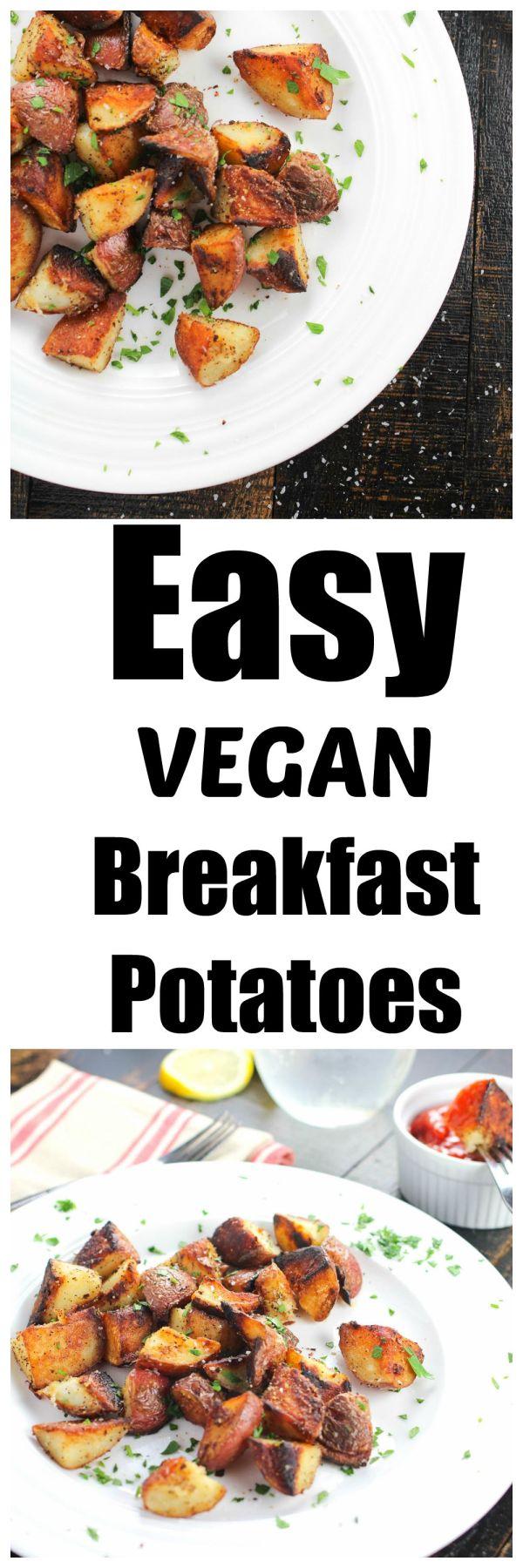 Easy Vegan CRACK Breakfast Potatoes