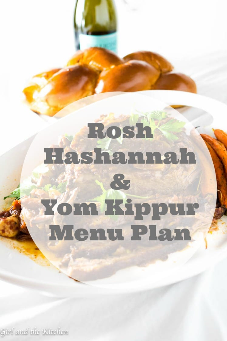 My super easy Rosh Hashanah and Yom Kippur Dinner Menu is going to make your high holiday dinners a breeze this year. Plus it is a major crowd pleaser! There is something in here for everyone! And the best part is every single item on this dinner is either freezer ENCOURAGED or easily made ahead of time.