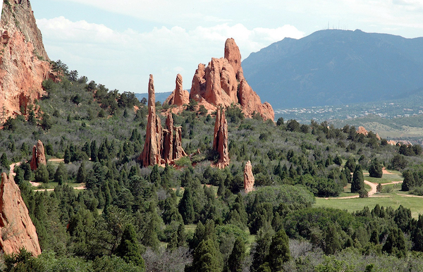 Garden of the Gods is one of the best things to do in Colorado Springs.