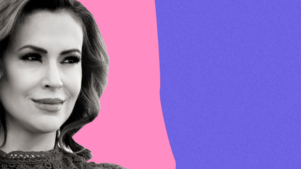 Alyssa Milano on Joe Biden, Activism, and Social Media