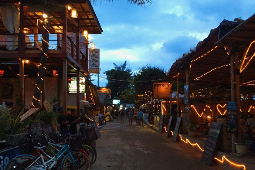 The Main Road at Night
