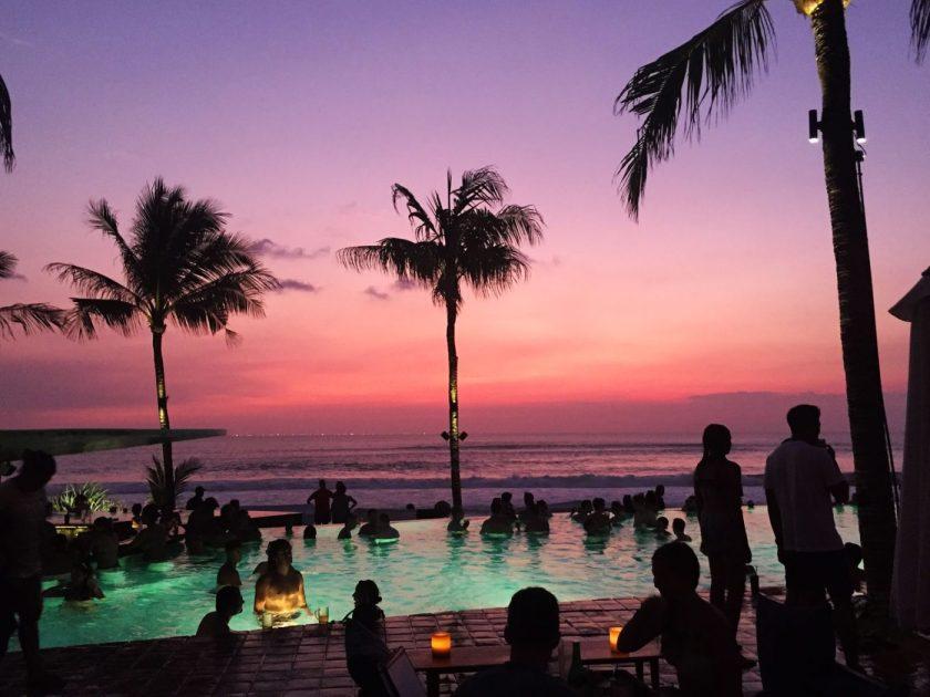 Sunset at Potato Beach Club