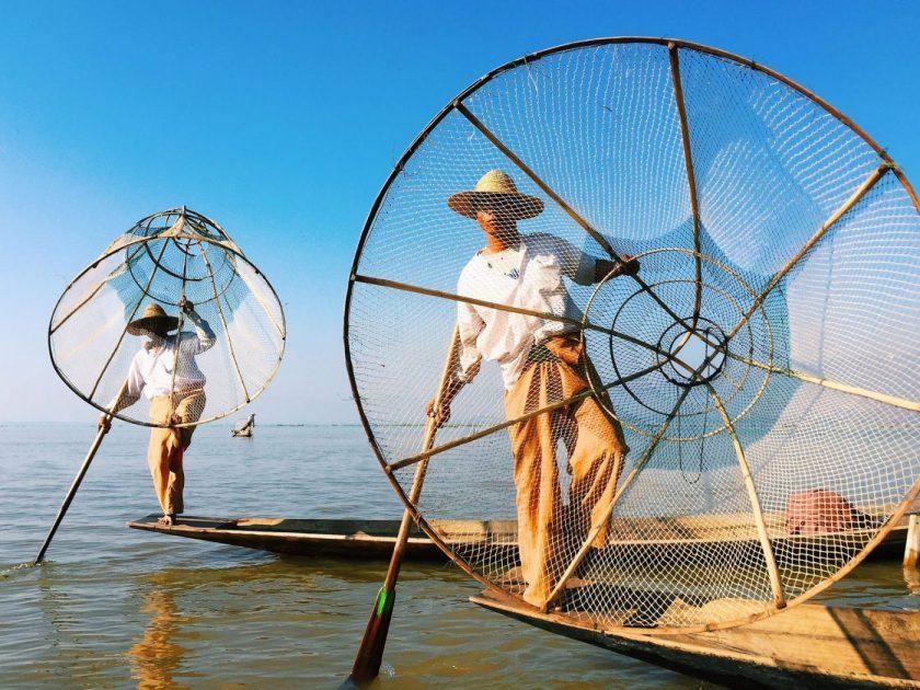 Fishermen at Lake Inle