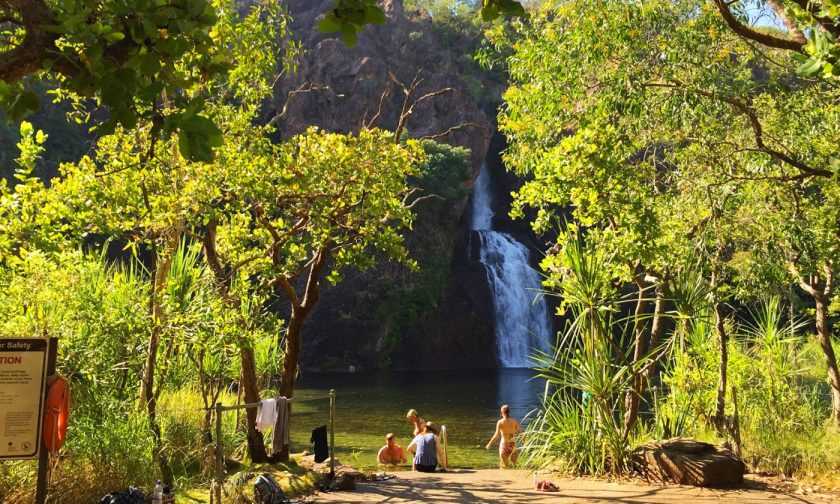 Wangi Falls at Litchfield National Park