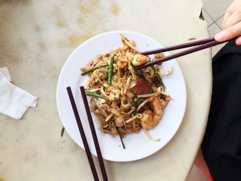 Char Koay Teow at Lorong Selamat