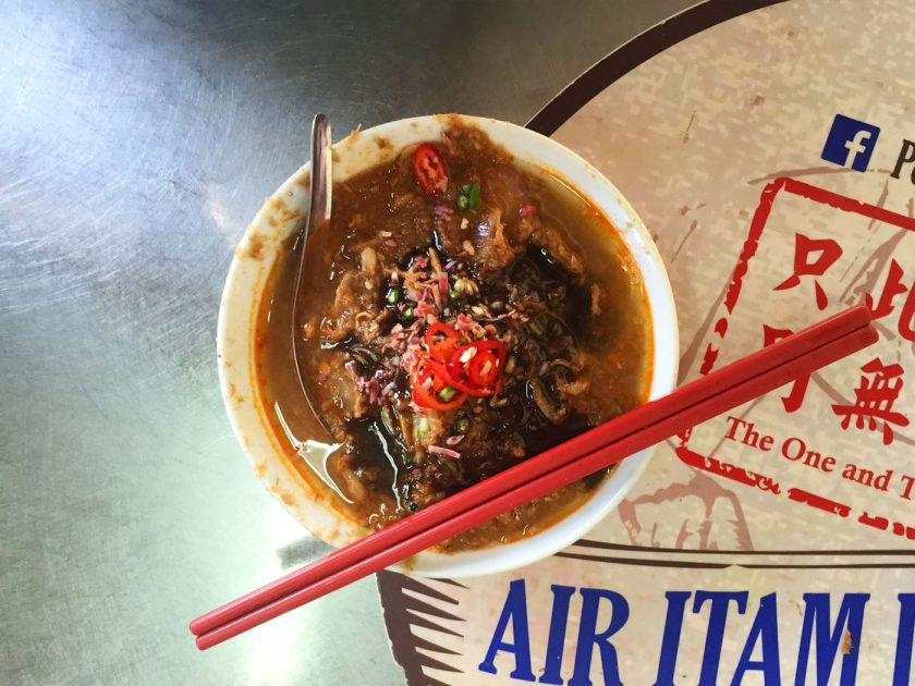 Penang Asam Laksa at Air Itam