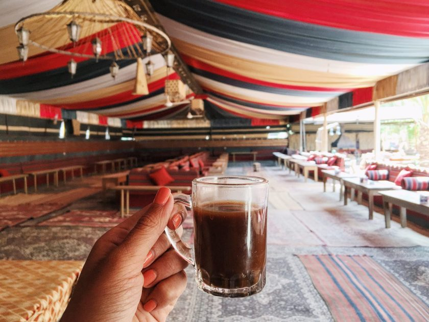 Arabic Coffee in Bedouin Camp