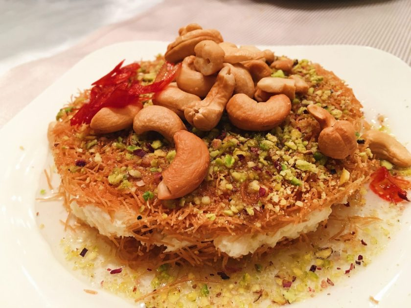 Knafeh at Burj Al Hammam