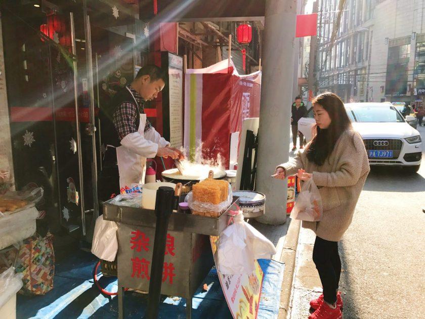 Jianbing stall
