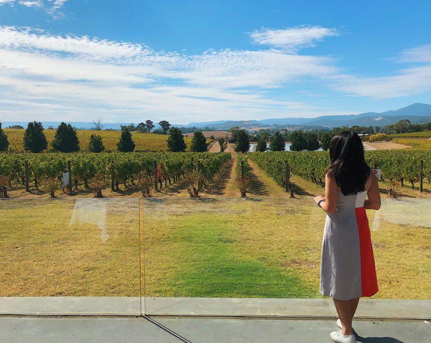 Overlooking Yarra Valley