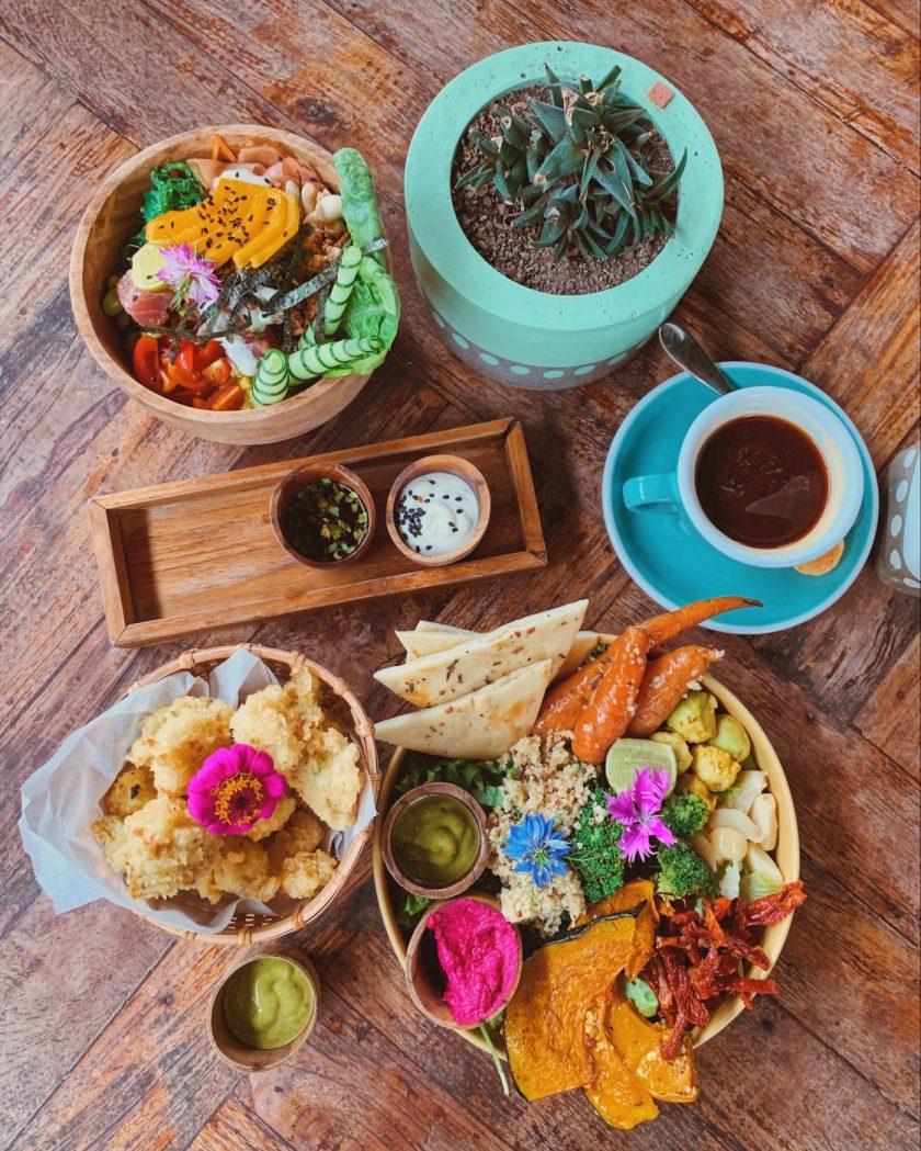 Beautiful food at Shelter Cafe