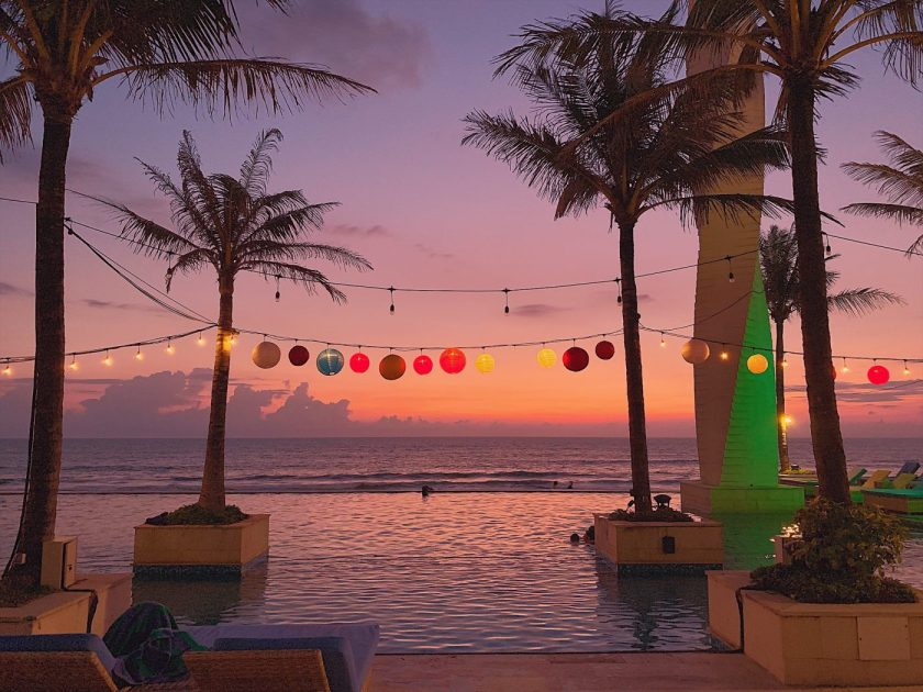 Vue Beach Club in Canggu