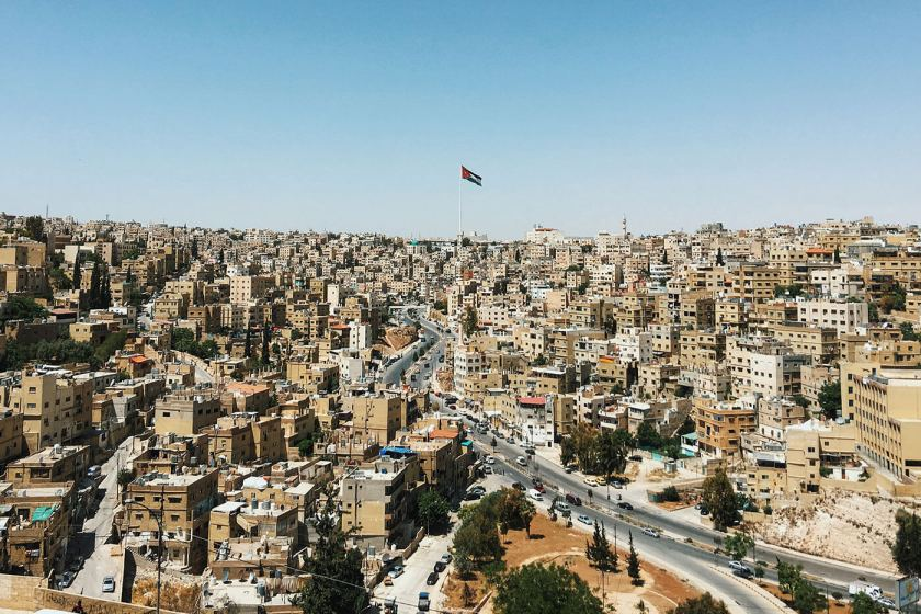 View from Amman Citadel