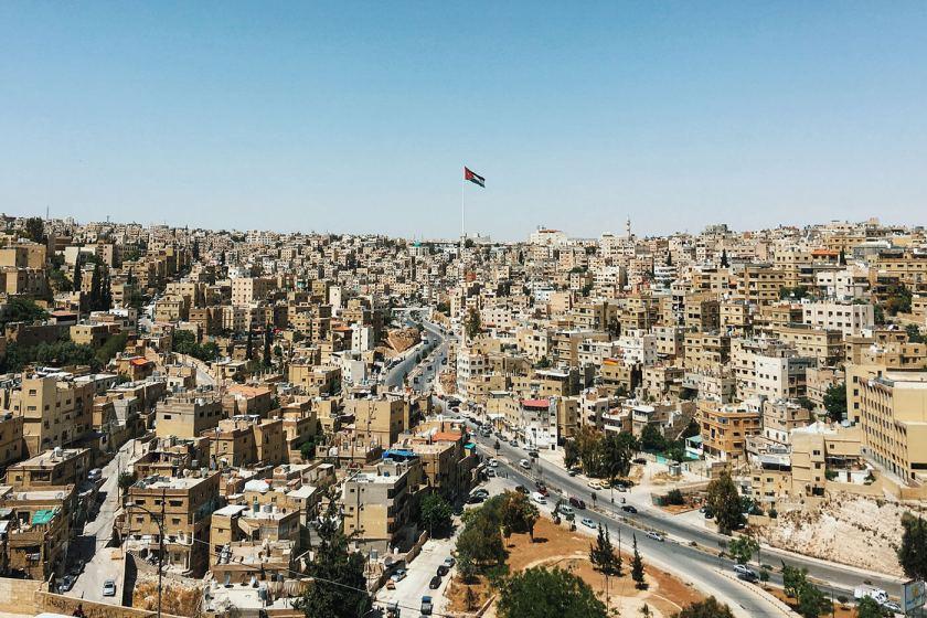 View from Amman Citadel