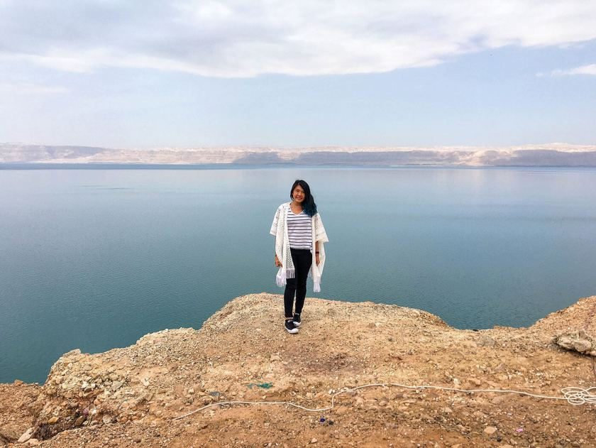 The Dead Sea in Jordan