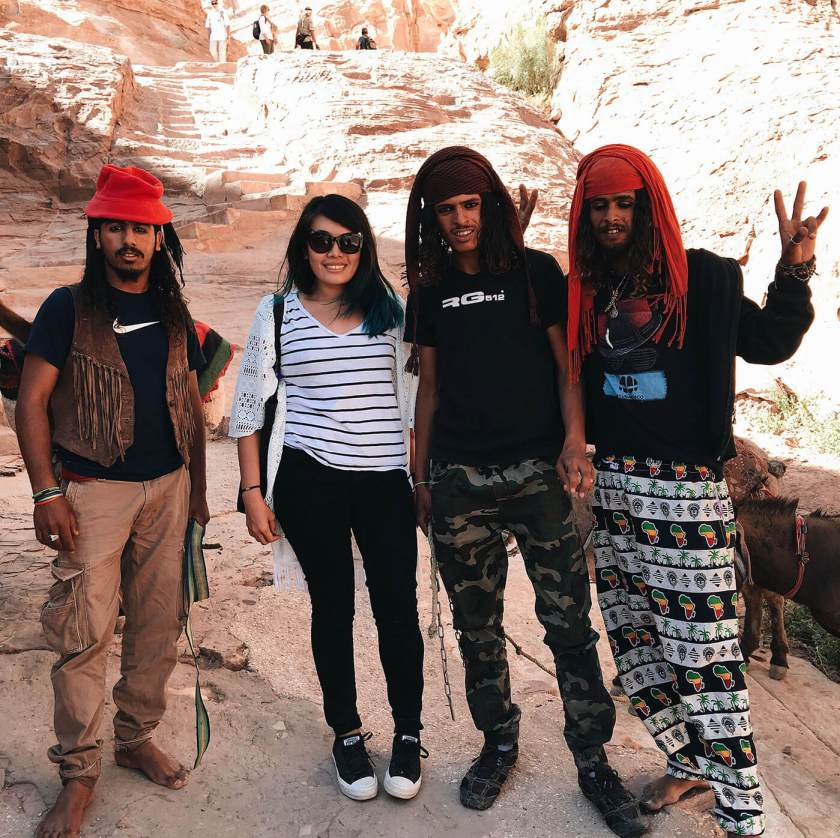Meeting a bunch of Jack Sparrows at Petra