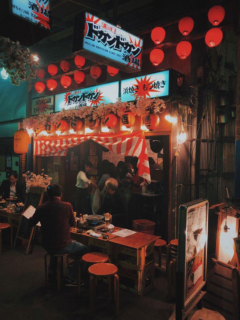 Random Alley in Tokyo