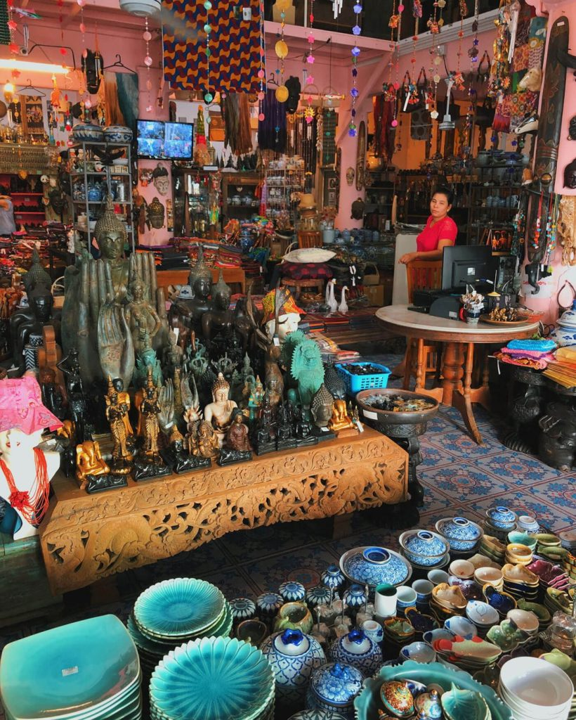 Old Phuket Town Ceramics Shop