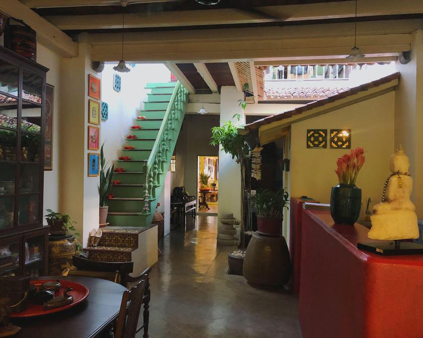 Quaint Interior of China Inn in Old Phuket Town