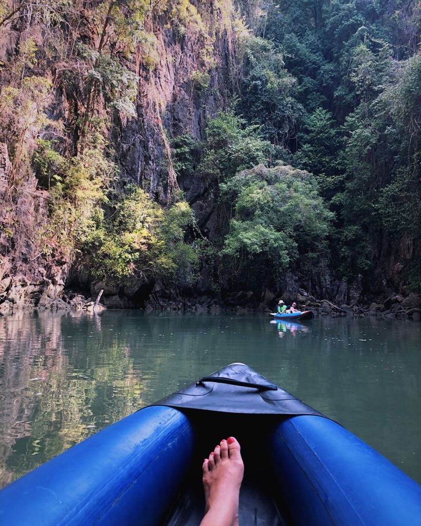 Kayaking in Phang Nga National Park