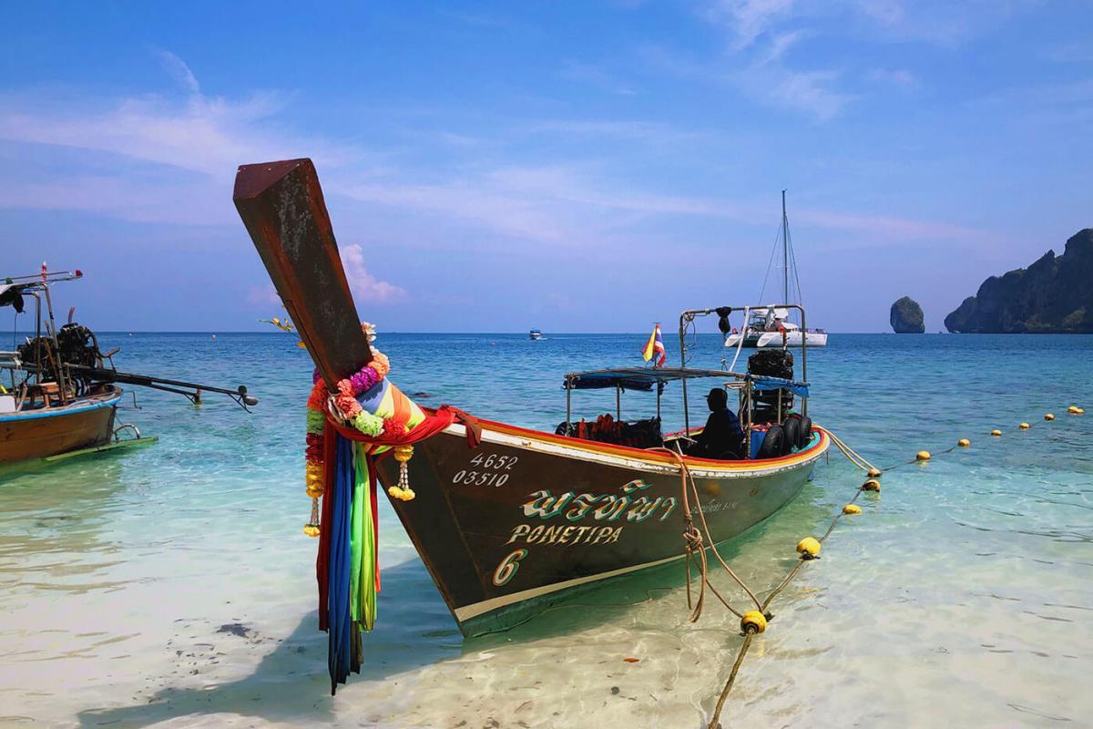 Monkey Bay on Phi Phi Island