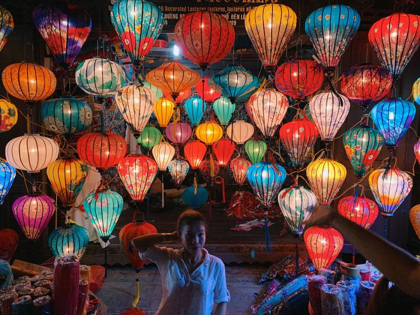 Lanterns at Hoi An Night Market