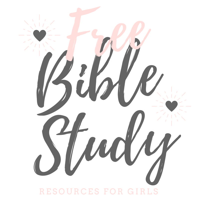 Free Bible Study Resource for Girls