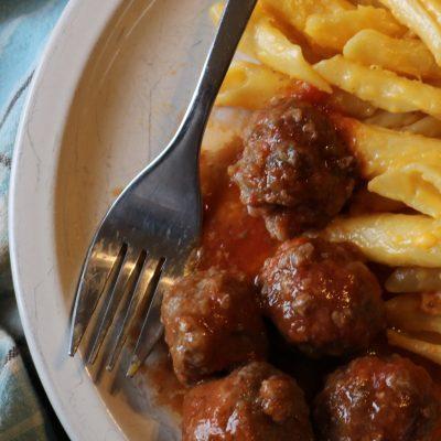 Best Barbeque Meatballs