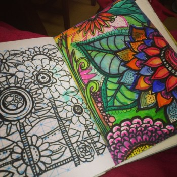 Collage Or Doodle In Your Journal For A New Entry Type Utilizing Your Creativity When You Just Don't Feel Like Writing