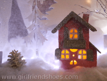 It's Done! Mantle Decorations – Winter Wonderland
