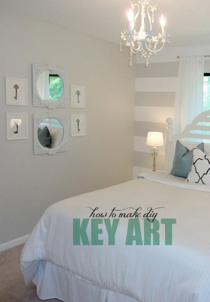 Nice diy wall decor Source