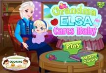 Grandma Elsa Cares Baby