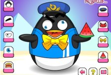 Crazy Penguin Dressup