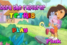 Dora the Explorer Tetris