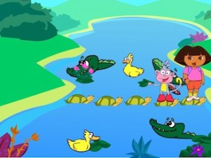 Dora The Explorer: Crocodile Lake