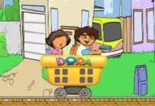 Dora And Diego City Railroad