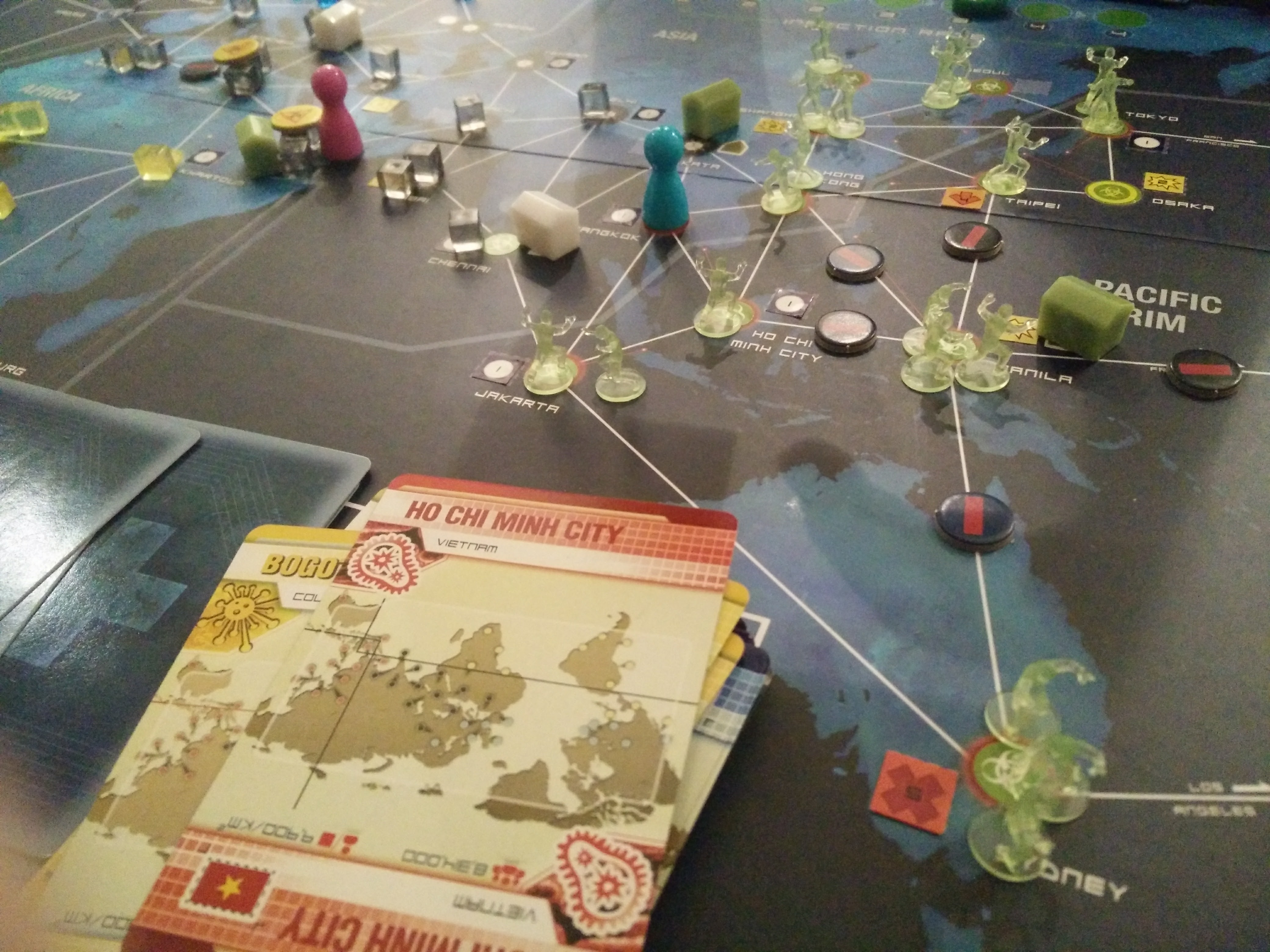 Pandemic Legacy: July – September