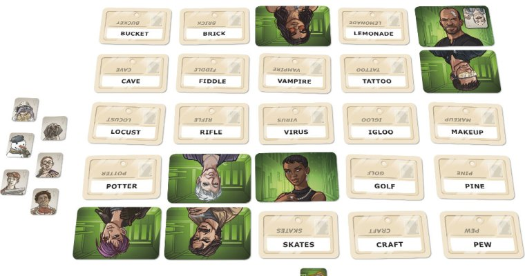 Game Review – Codenames: Duet