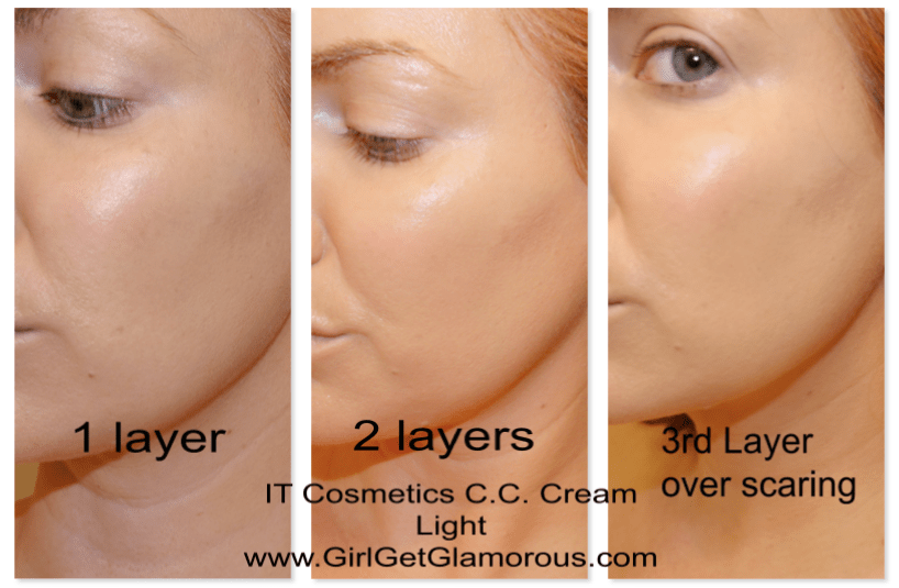 Foundation that doesn t settle into wrinkles