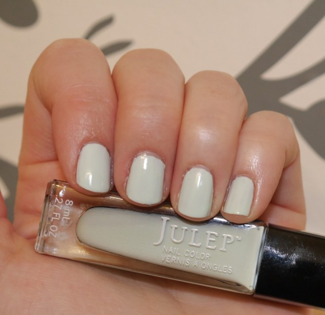 With Julep Susie.  A refreshing mint!