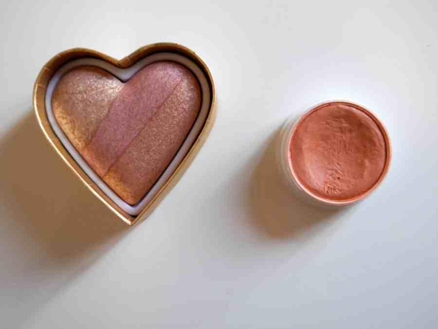 Powder (L) and a Cream (R).