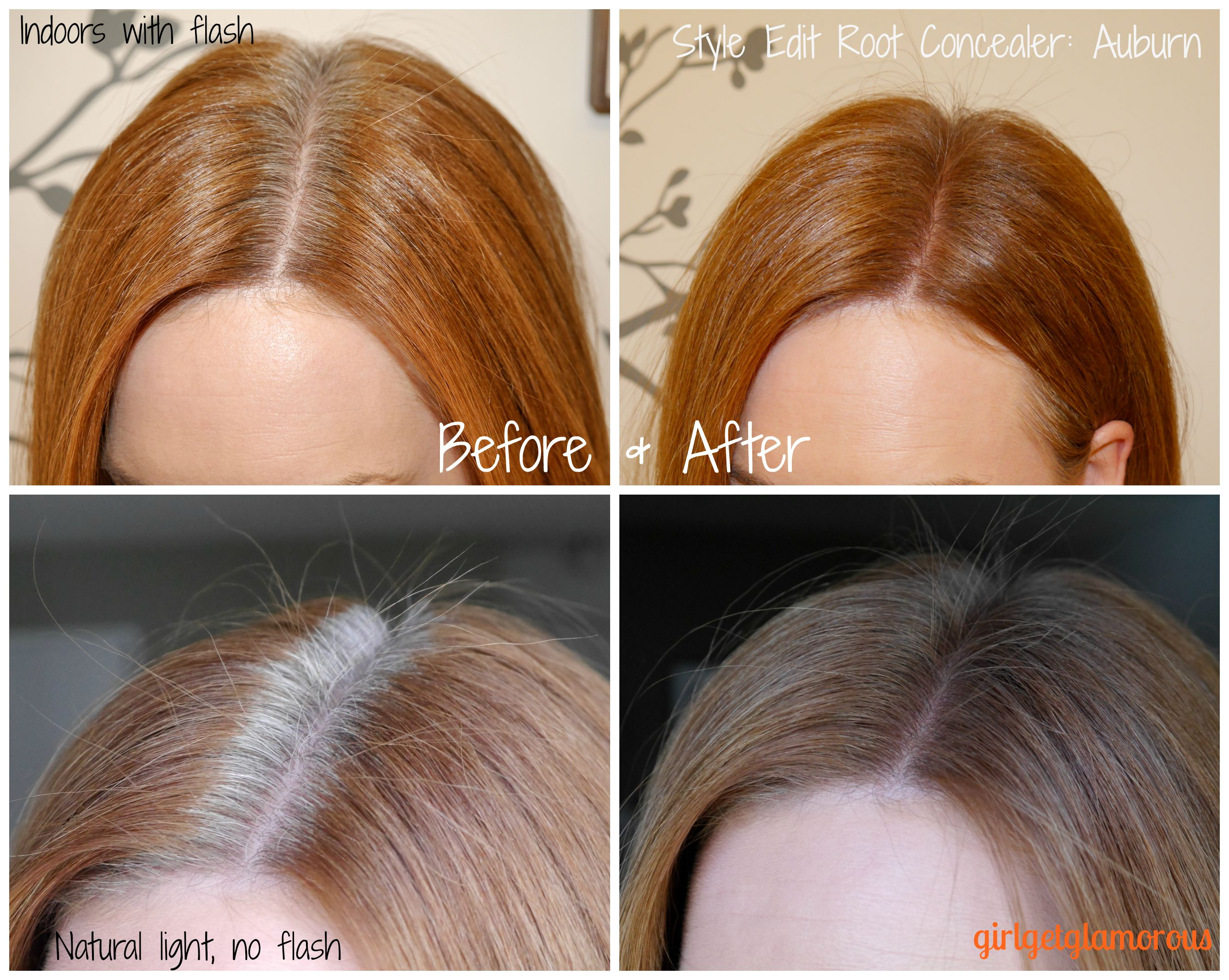 Style Edit Root Touch Up Spray: Auburn/Red // Review + Demo ...
