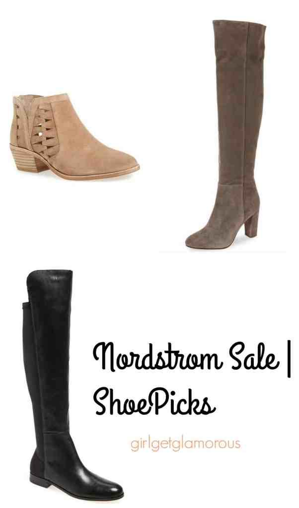 nordstrom sale top best shoe booties under $100 picks