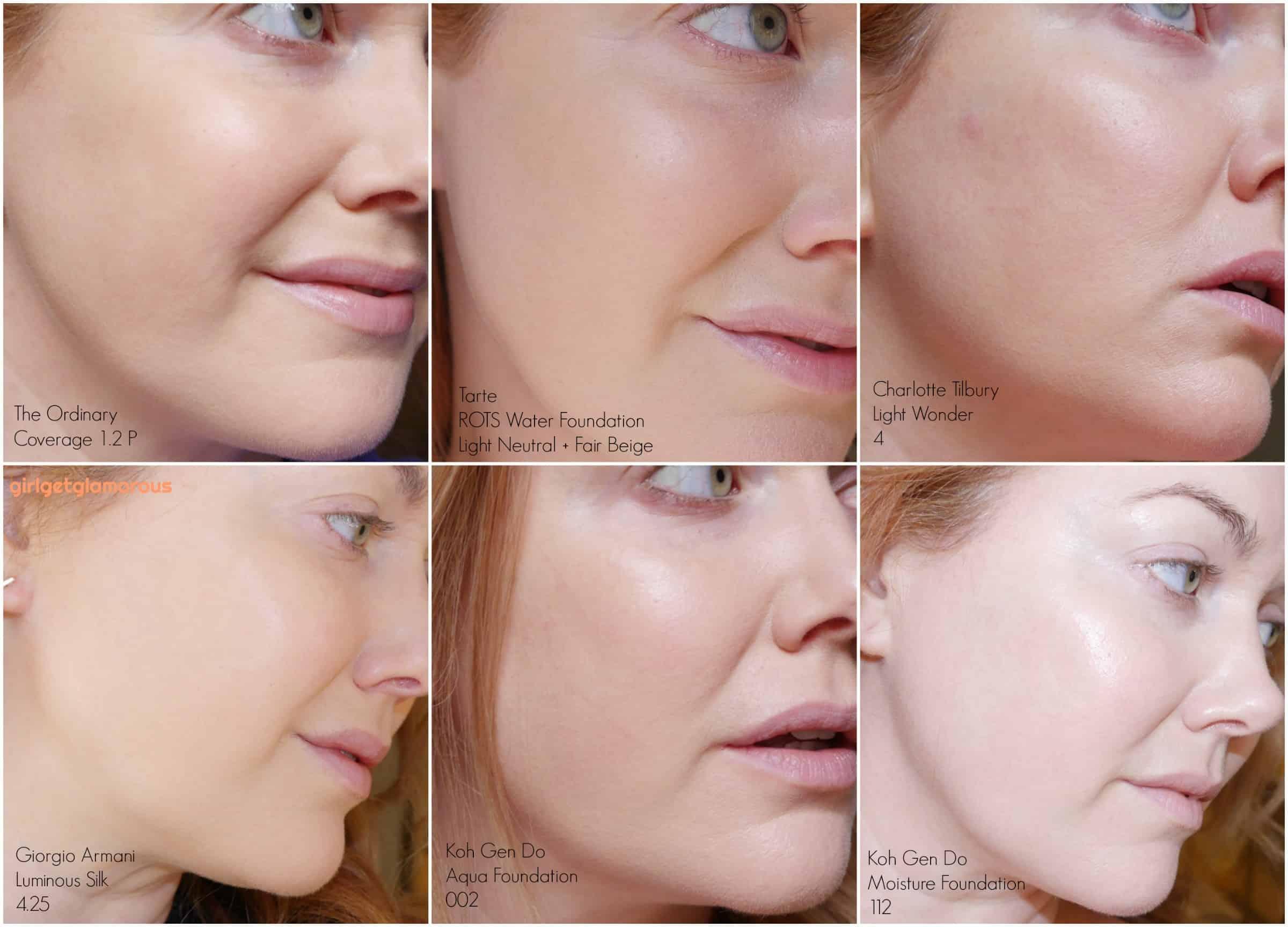 Foundation mature skin