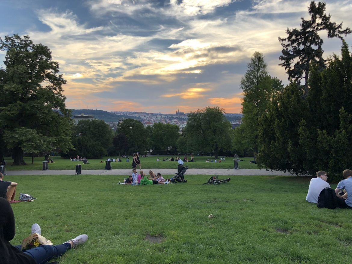 prague sunset hill local tourist spots to see do must on vacation