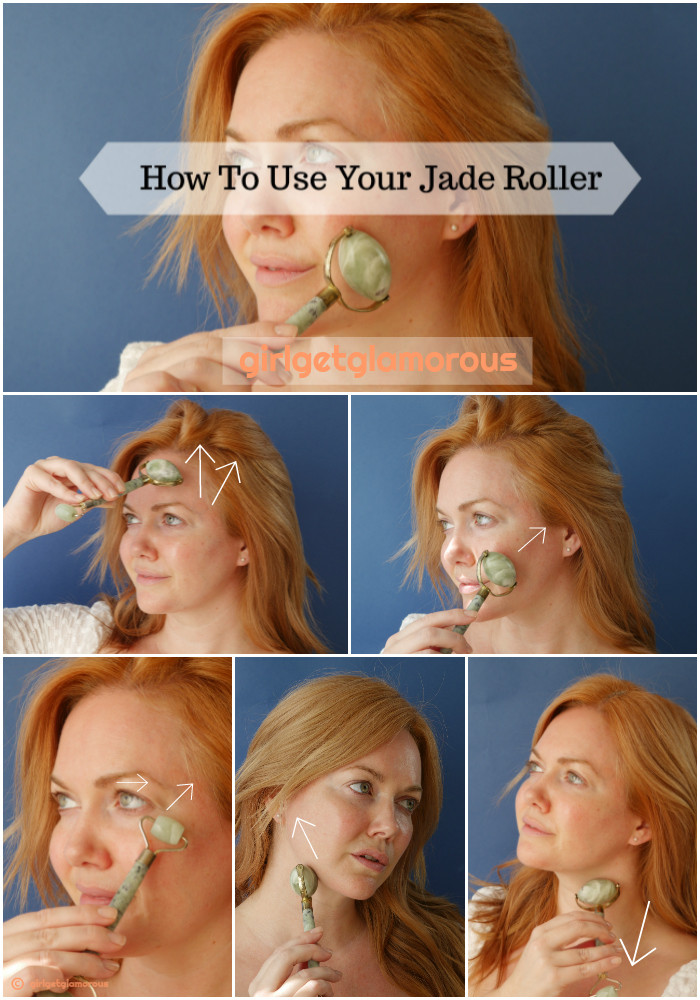 jade roller how to use beauty blog blogger guide tutorial best demo face eyes neck