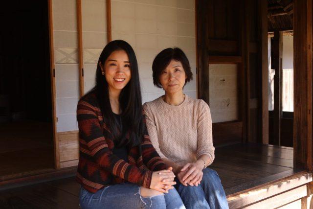 mihiro and mom