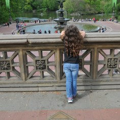 Bethesda Terrace overlooking Bethesda Fountain