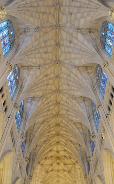 St. Patrick's Cathedral ceiling